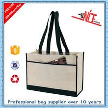 recycled non-woven fashion bag with umbrella pocket