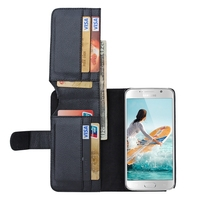 BRG Smart Phone Case For Samsung Leather Case Cover Male Man Style With Credit Card Holder Wallet For Note 5