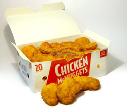 full color printing paper chicken and chips box