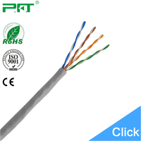 China Cable Manufacturer Lowest Price CCA Conductor 24AWG UTP Cat 5e