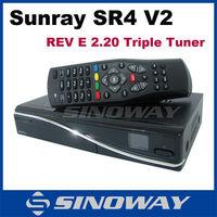 Rev E sunray 4 hd se sr4 V2 triple tuner wifi sunray 800 hd se sr4 triple tuner sunray dm800se V2 triple tuner wifi in stock