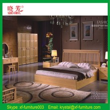 2015 Newest Eco- friendly bamboo bed bamboo furniture sets