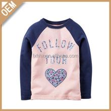 Double color bulk wholesale baby graphic t-shirts