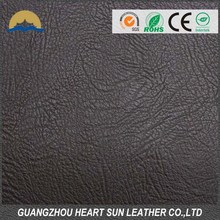 Artificial leather fabrics synthetic PVC leather for shoes, bags and sofa