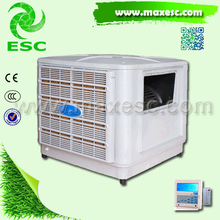 side dischage ac evaporative air water cooling fan evaporative air cooler popular in new york