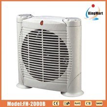 Oscillation base fan heater 2 settings max power 2000w