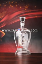 double-deck with attractive Chinese dragon glass crafts