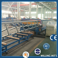 quality roof and wall color steel double layer roll forming machine