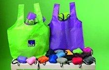 shopping foldable nylon/polyester bag