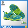 HOBIBEAR 2015 casual peacock green and fluorescent green wholesale sneakers