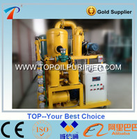 High Efficiency Automative transformer oil treatment machine for moisture,air and particulate matter removal,restore oil