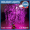 Beautiful Pink Artificial Led Weeping Willow Tree Lighting With 4096 Leds