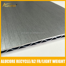 roof cover sheets aluminum sandwich panel