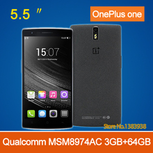 """OnePlus One Plus One 64GB 4G LTE Mobile Phone 5.5"""" FHD 1920x1080P Snapdragon801 2.5GHz 3GB RAM 16GB Android 4.4 13.0MP NFC CM11"""