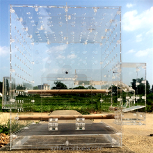 Custom Acrylic Bird cage sale,square clear pet container