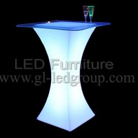 High Quality Illuminated Furniture Led Cocktail Table Modern Tables