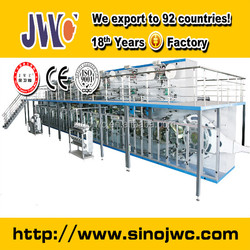 used baby diaper machine making production line