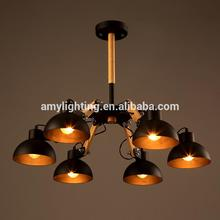 New Arrival Adjustable Contemporary Simplicity Wooden Home Chandelier