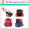 Lovely Dog trolley carrier outdoor travel dog carrier in wheel