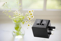 Newest Designed brand factory outlet world travel adapter kit with usb part