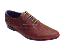 Seavo SS16 fashion point toe style formal occasion men party dress shoes