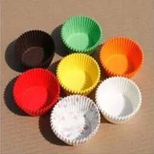 alta calidad de diferentes diseños de papel copa de pastel de los casos
