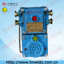 signal switch for belt transport and winch transport