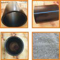 Plástico de gran diámetro lista de precios tubería HDPE PE 100