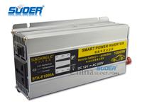 Suoer 1000W Modified wave power inverter DC 12v to AC 220v Solar Power Inverter
