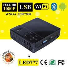 500 Lumens mini dlp projector with HDMI in VGA AV in USB