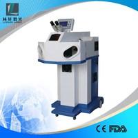 wuhan linxuan 100W 150W 200W jewelry laser welding machine for sale with Water bottle / adwords / stainless steel / metal