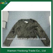 Faux Fur ladys clothing,Faux fur gilet,women mink fur coat