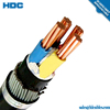 0.6/1KV 6/10KV 26/35KV Cable Cu/XLPE/SWA/PVC XLPE Insulated 4 Core YJV22 Armoured Cable