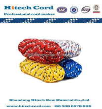 Polypropylene colored diamond braided rope with competitive price