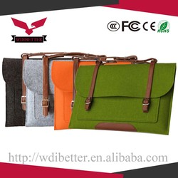 New For Macbook Wool Felt laptop sleeve 15'' Laptop bag