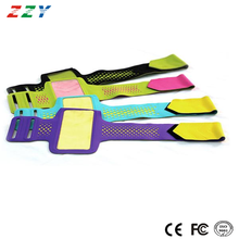 New design armbands 2016 mobile accessories soft lycra material action touch screenrunning sport armband for Iphone 6