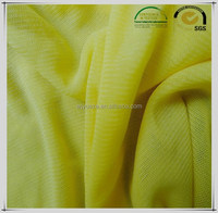 high quality spandex and nylon knitted mesh fabic for sportswear