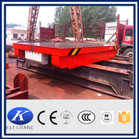 Top sale electric loading car,transfer flat car
