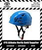 new arrivel colorful glossy finishing kid climbing helmet