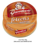 CANNED LIVER PATE 30g, 50G & 100g
