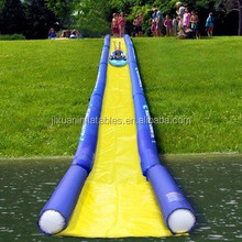giant inflatable slip n slide 1000 ft slip n slide inflatable slide the city