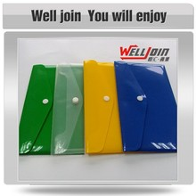 Customized colorful classic pp plastic file folder