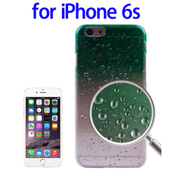 Alibaba Trade Assurance Raindrops Gradient Plastic for iPhone 6s Protective Case