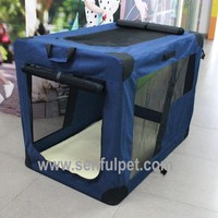 Fabric Soft Crate Dog Carrier Pet Cage