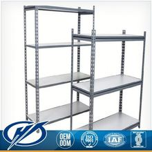 Good Quality warehouse shelf as Stainless Steel Slotted Angle gondola rack