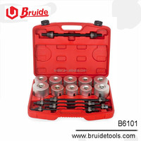 Auto special tool for 27 pcs PRESS AND PULL SLEEVE KIT(B6101) Auto tools