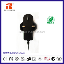 Factory offer 12v 1a switching power adaptor 12v plug-in power supply ul approved