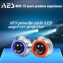 HID Wholesale Bi-xenon Projector Lens with LED Angel Eye as Porsche Headlight