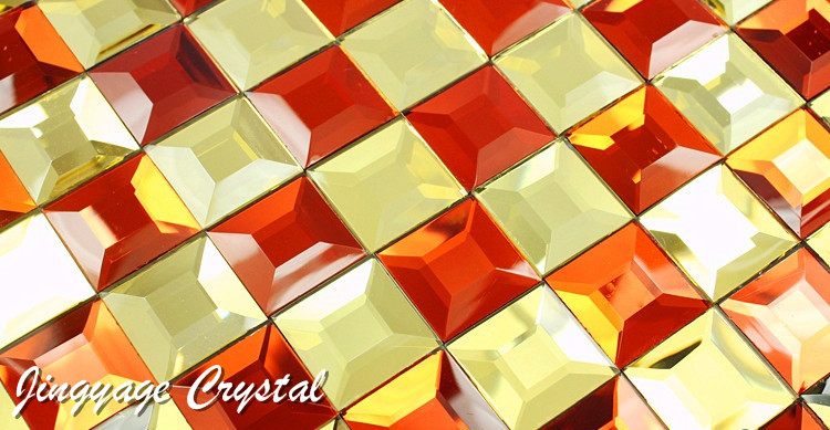 Diamond 5 surface mosaic glass 30*30mm
