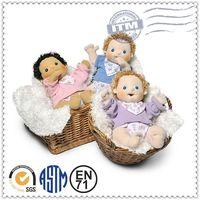 2015 New Style wholesale plush baby doll/ cute plush doll